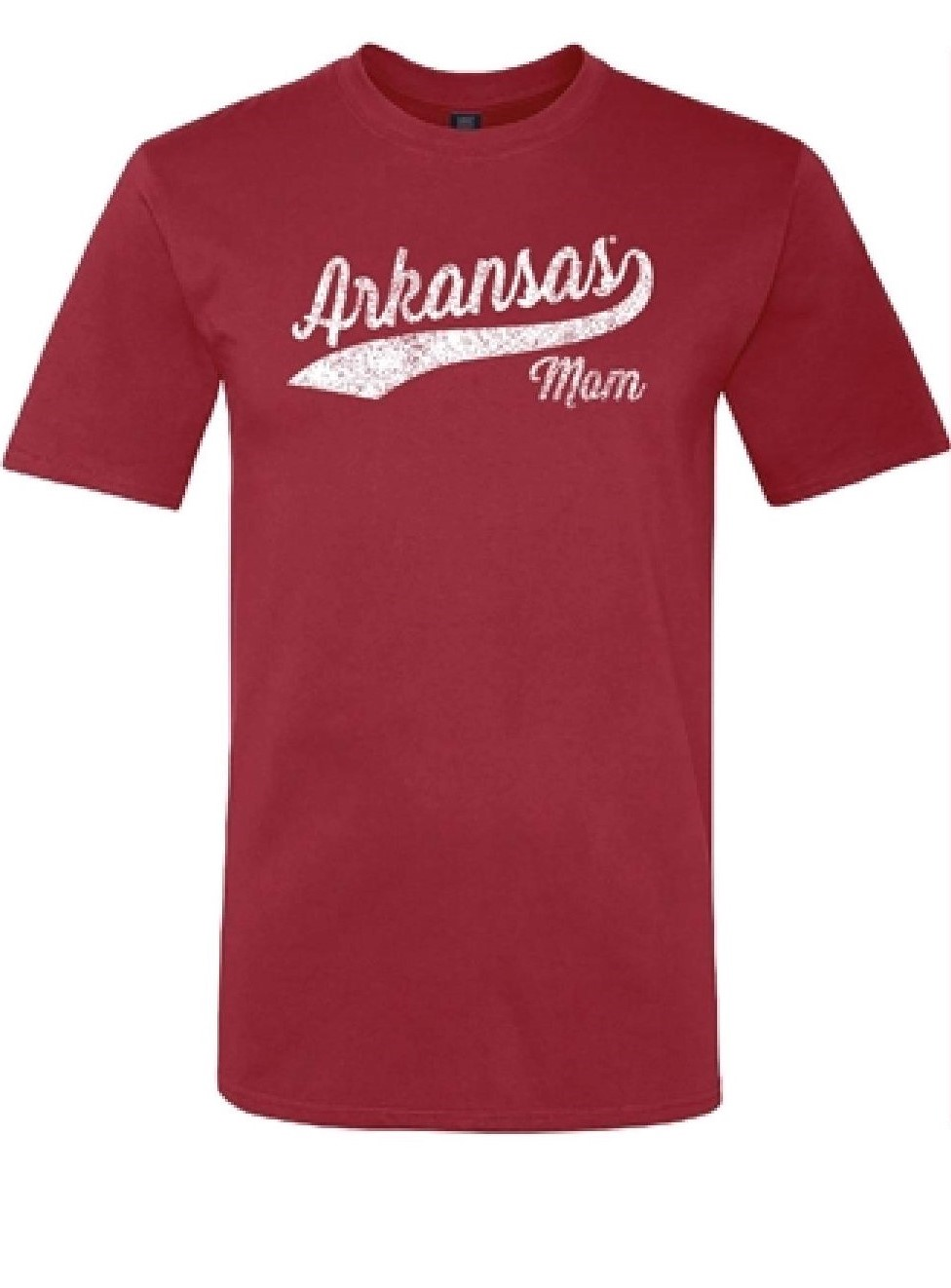 W Arkansas Mom Cursive Tee