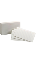 Oxford Ruled Index Cards