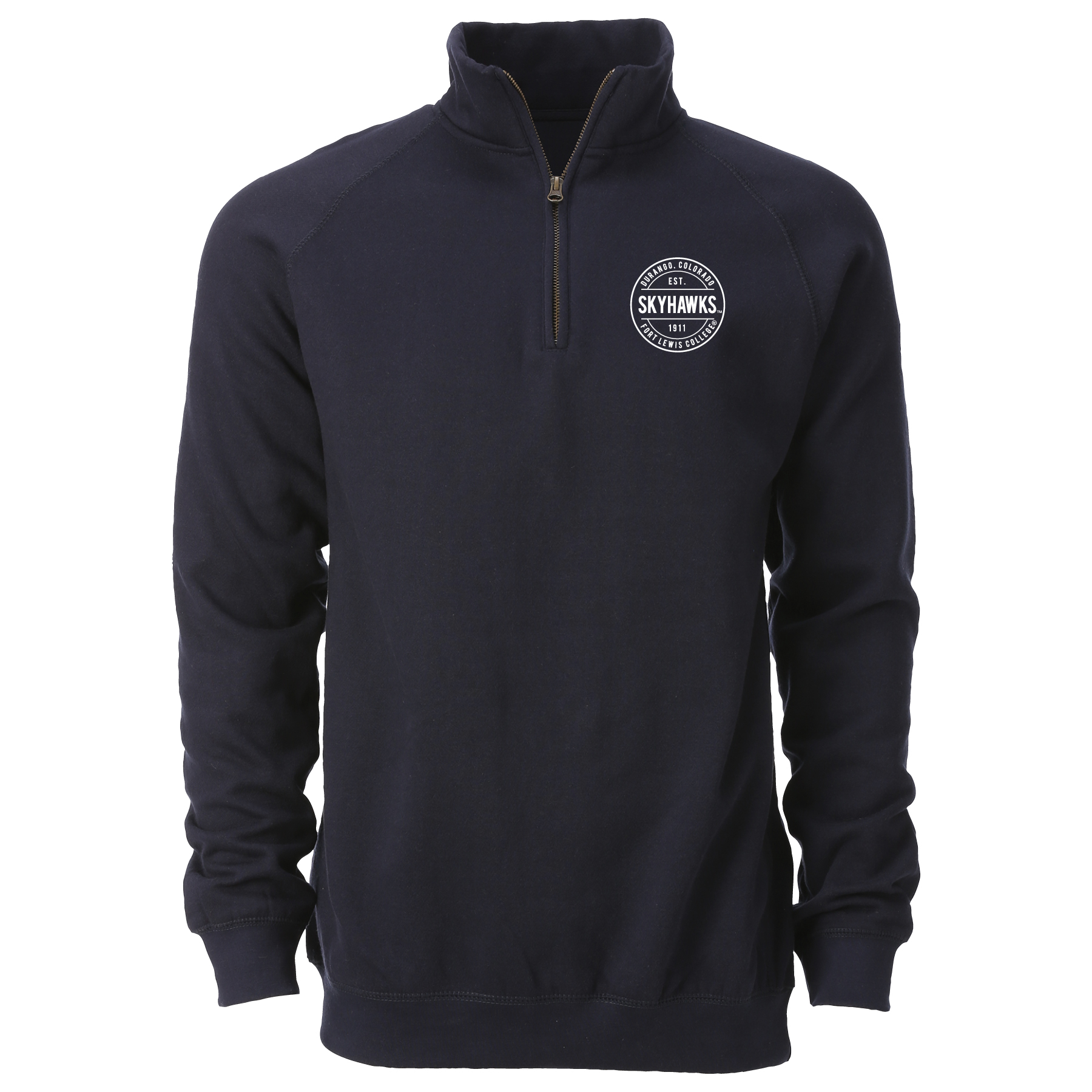 College Stamp Benchmark 1/4 Zip