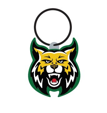 Bishop Wildcat Keytag