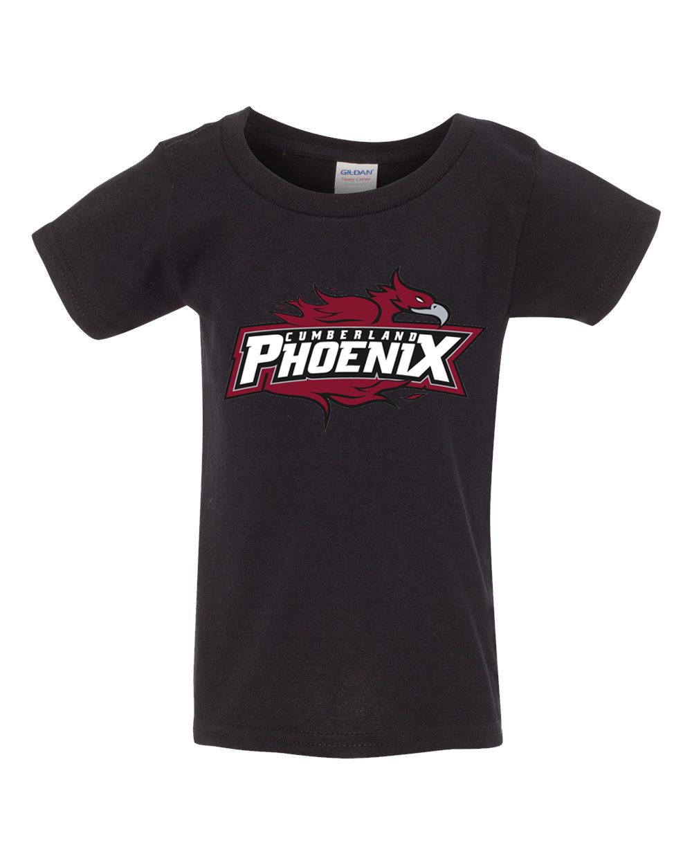 Cumberland Phoenix Toddler Tshirt