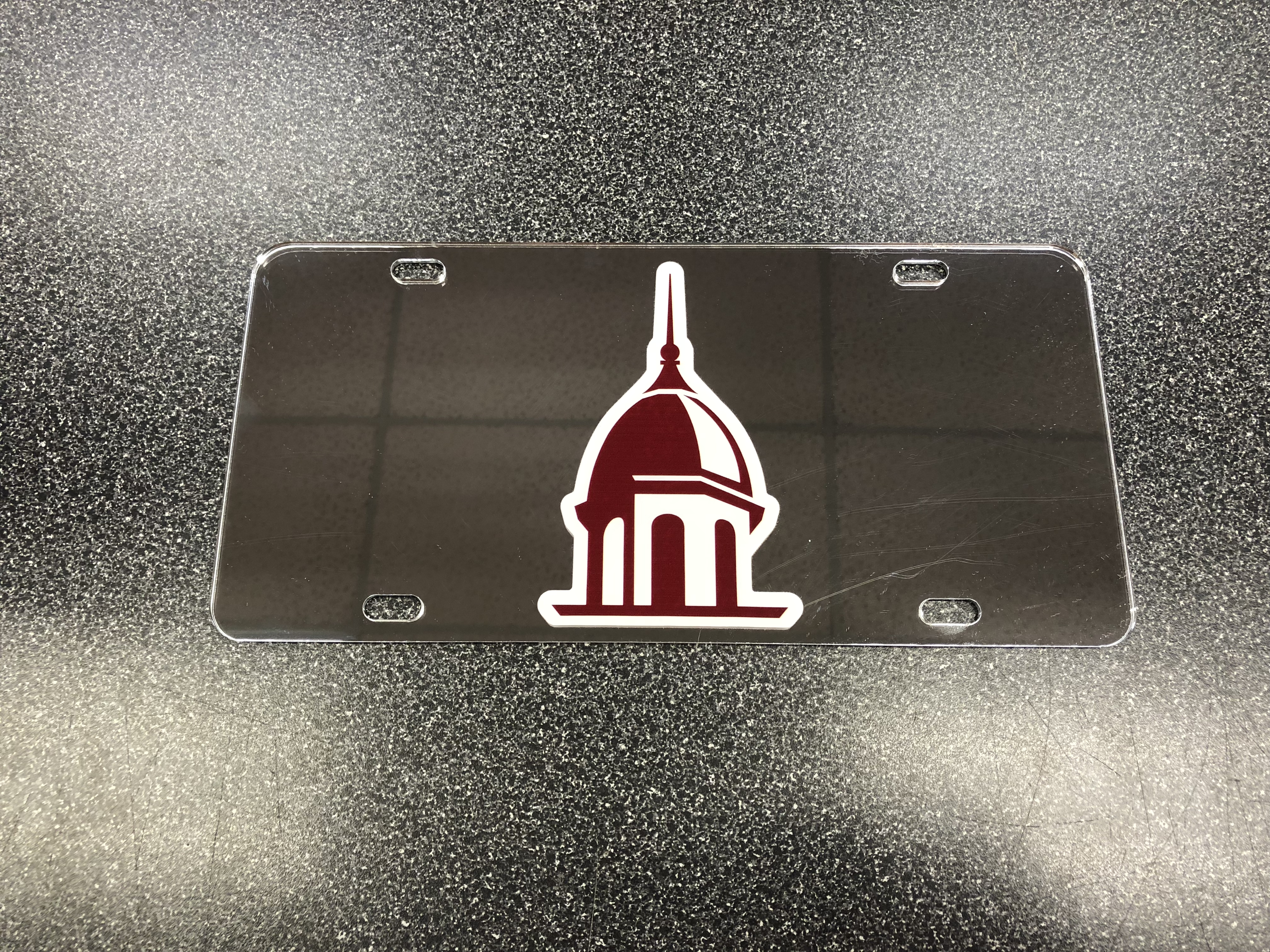 Decal Car Tag