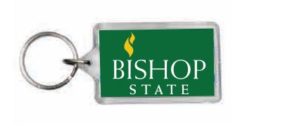 Bishop State Logo Keychain