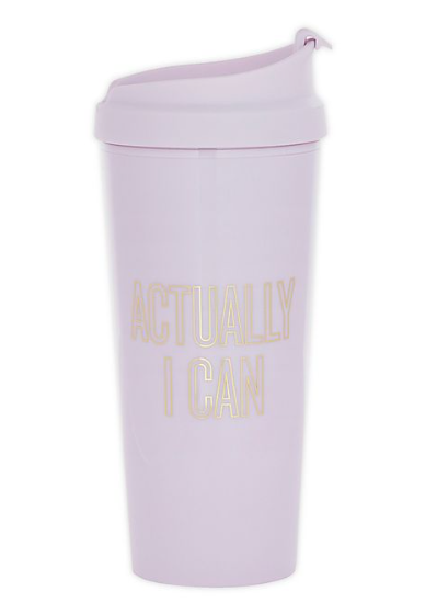 Actually I Can 16 oz. Travel Mug