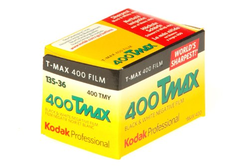 400 Tmax Professional Iso 400, 36mm, 36 Exposures, Black And White Film