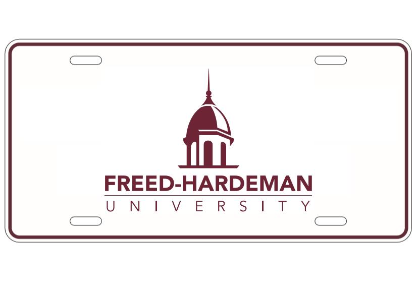 Metal Freed-Hardeman Tag