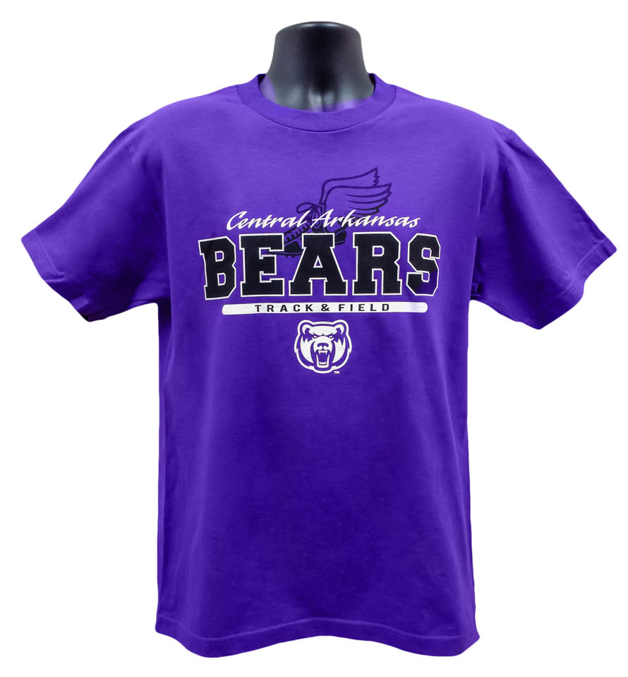 Track & Field Central Arkansas Bears Tee