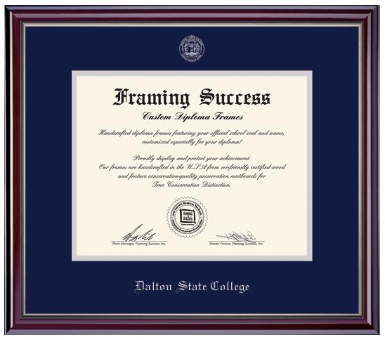 Dalton State College Jefferson Moulding Diploma Frame