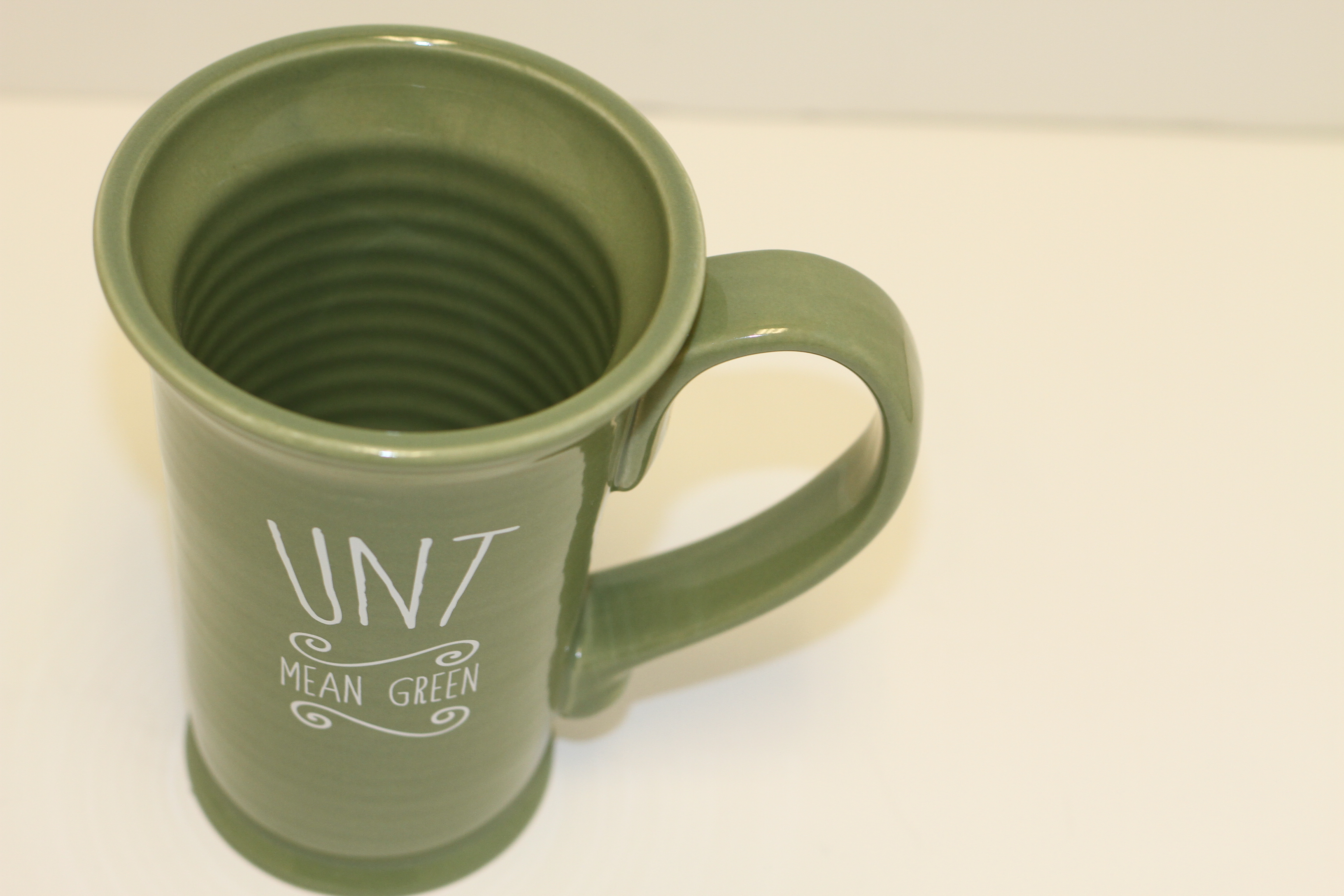 18 OZ. GREEN BURR MUG
