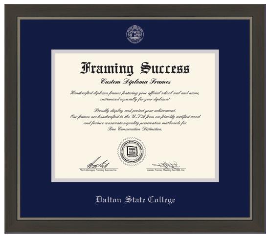 Dalton State College Metro Moulding Diploma Frame