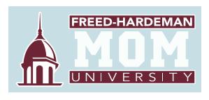 Freed-Hardeman Mom Decal