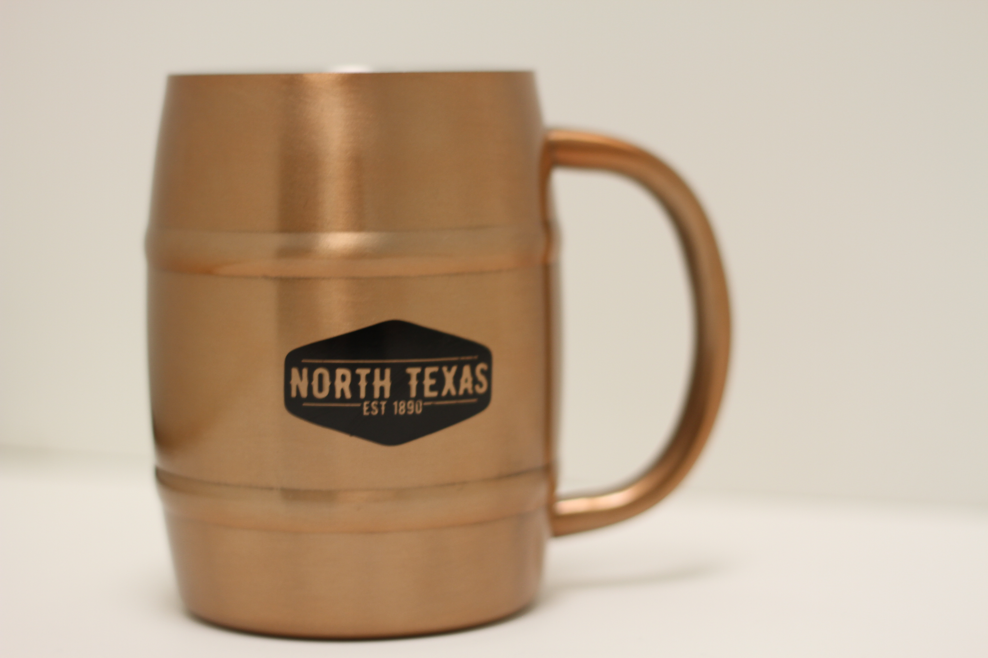 14 OZ. COPPER BARREL MUG