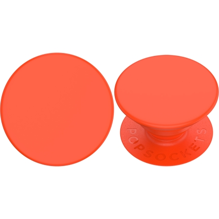 Neon Electric Orange Swappable Popsocket