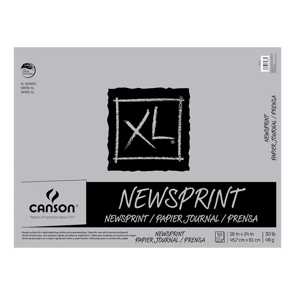 Canson Newsprint 200 Series Paper