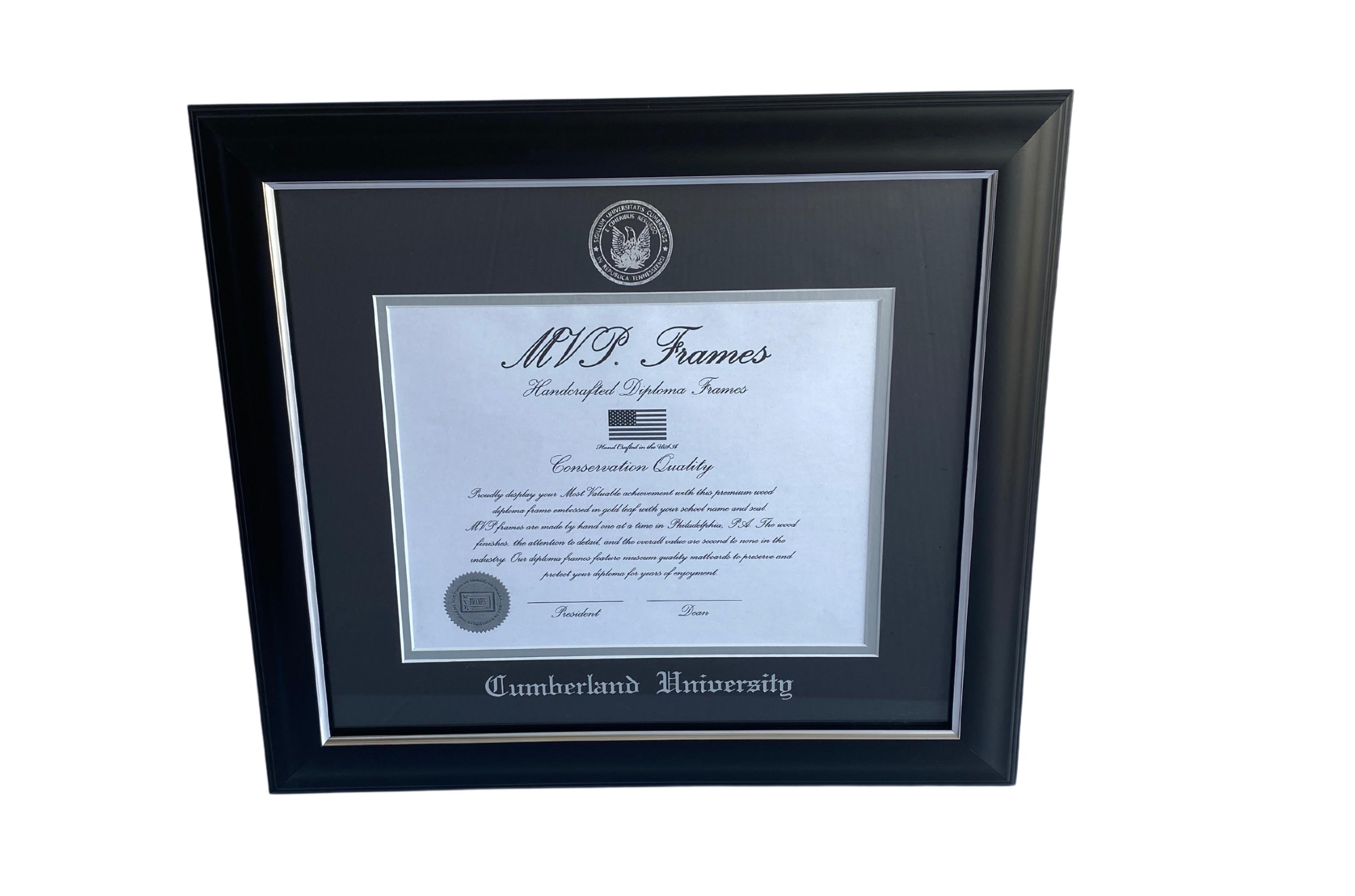 Cumberland University Diploma Frame - 5042