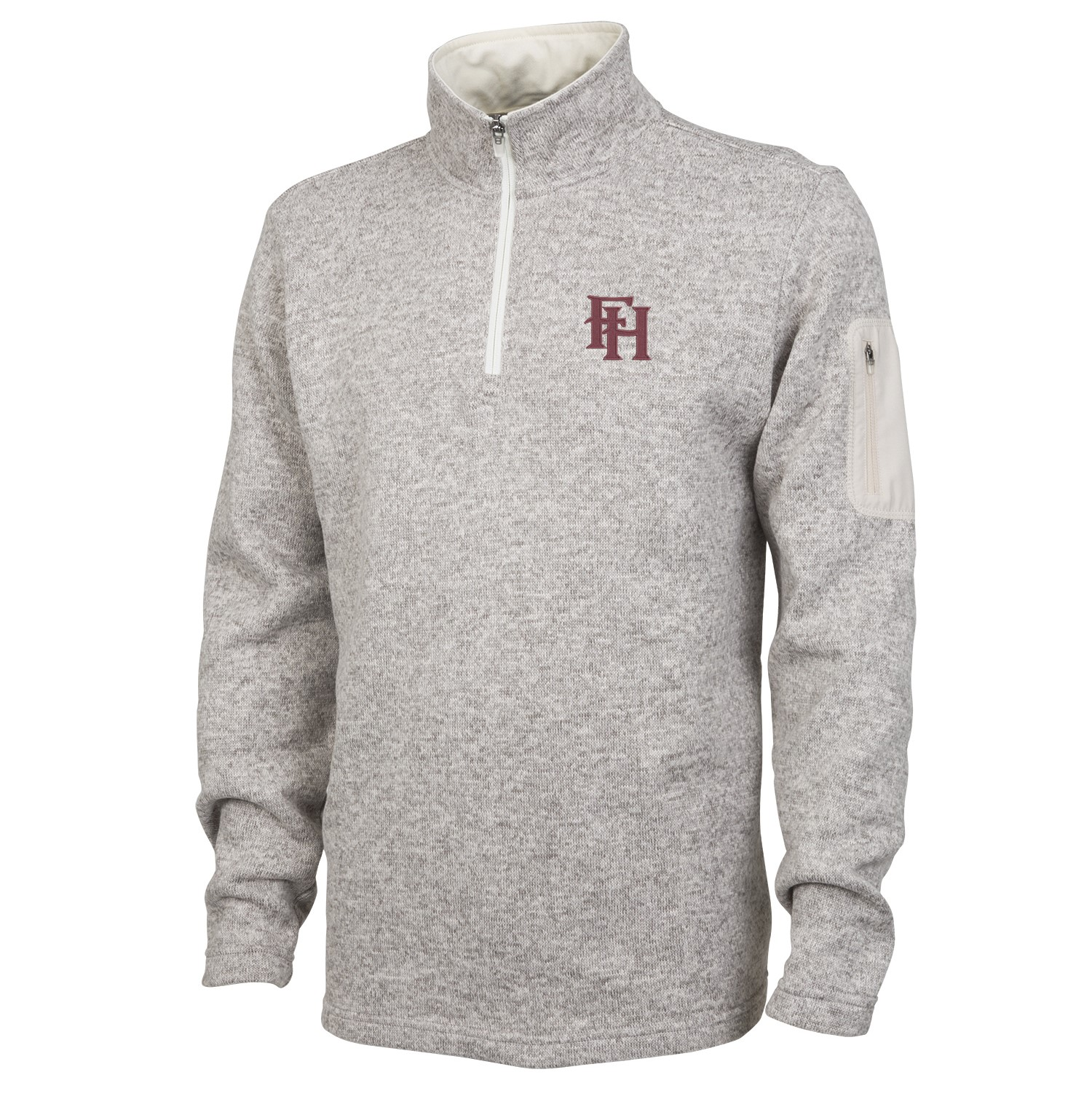 Men's Heathered Fleece Pullover
