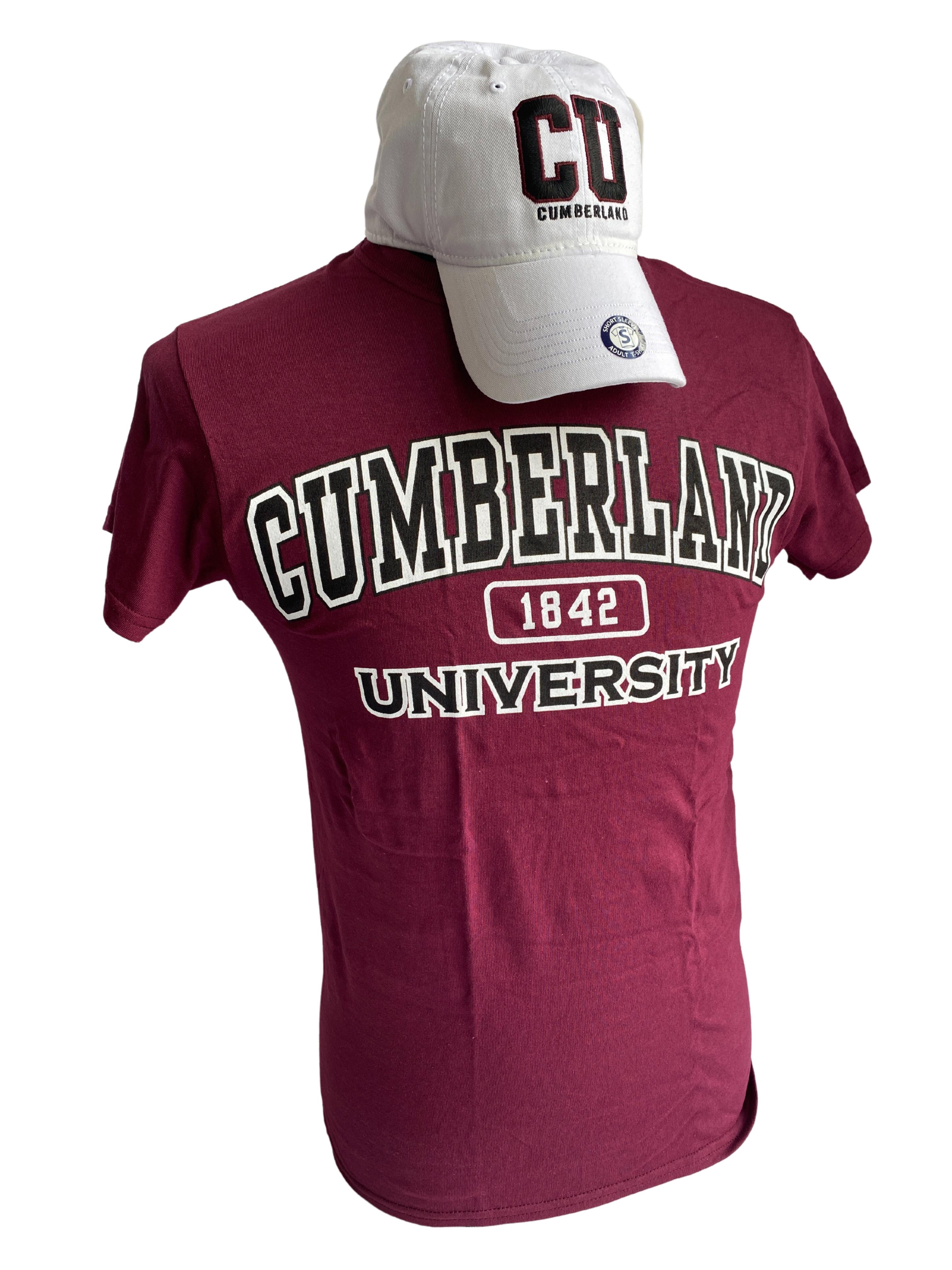 CU Cumberland Hat & Tshirt Combo