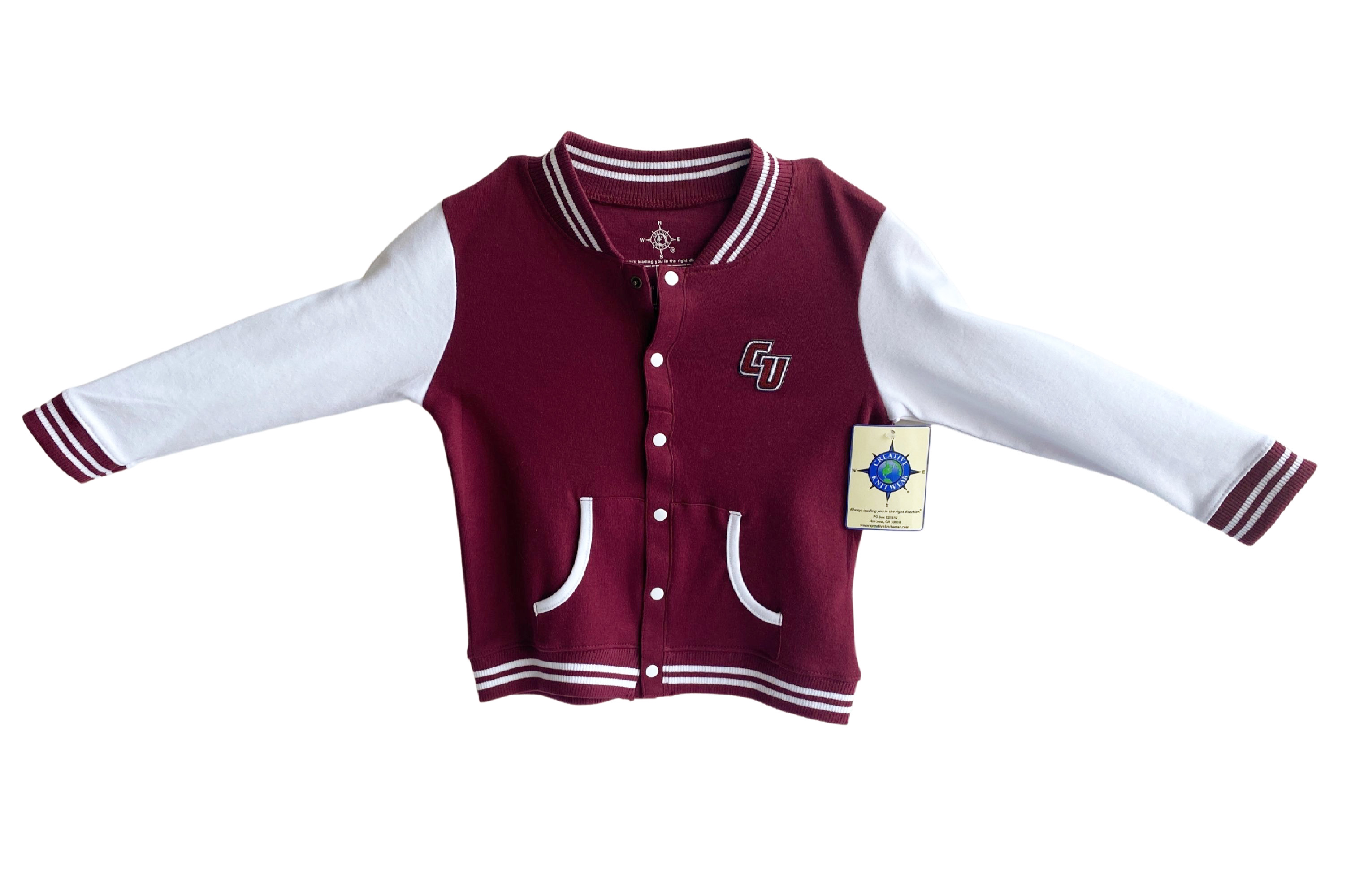 Toddler CU Varsity Jacket