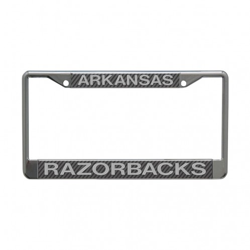Razorback Metallic License Plate Frame
