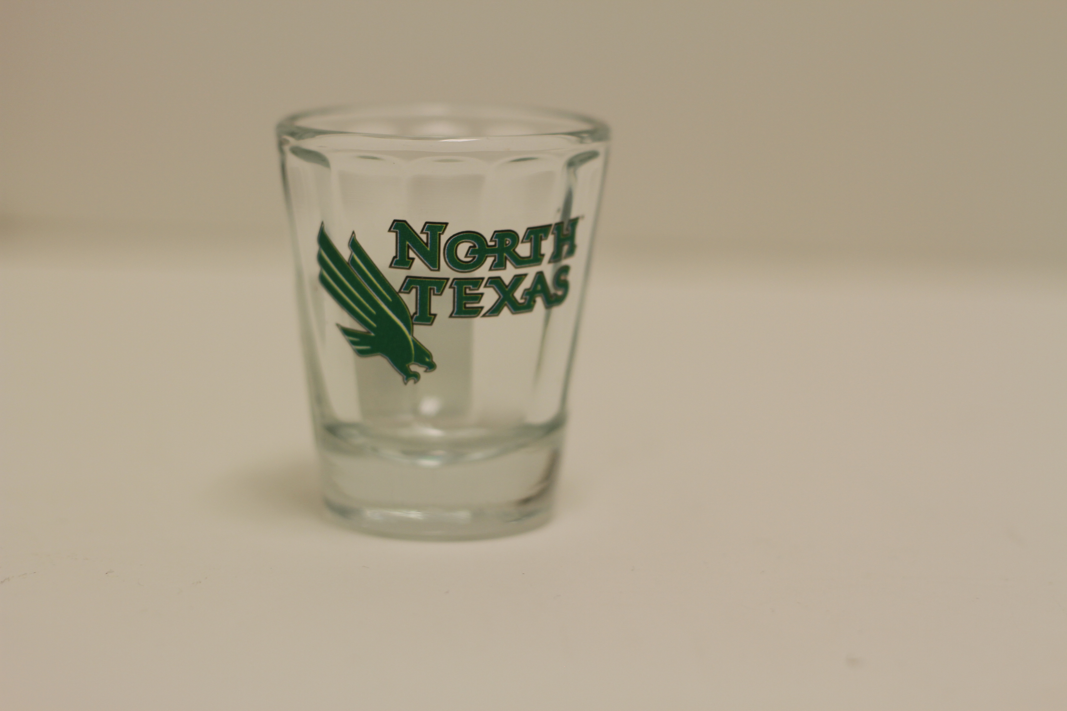 1.5 OZ NORTH TEXAS SHOT GLASS