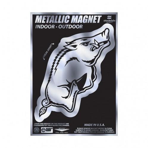 Metallic Razorback Magnet