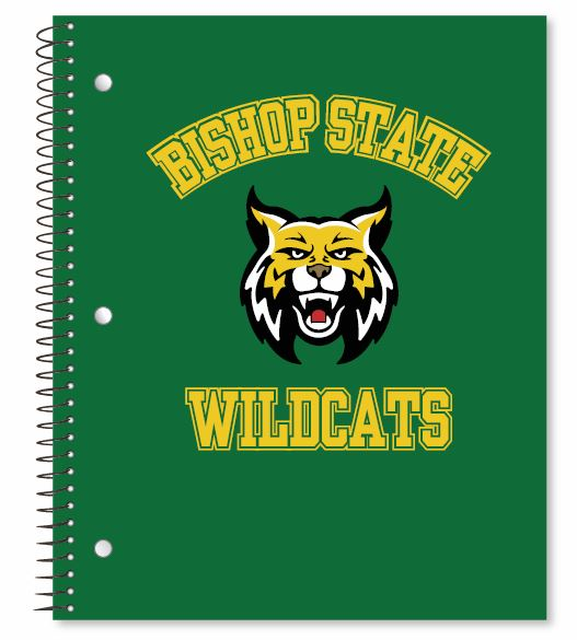 bishop state notebook