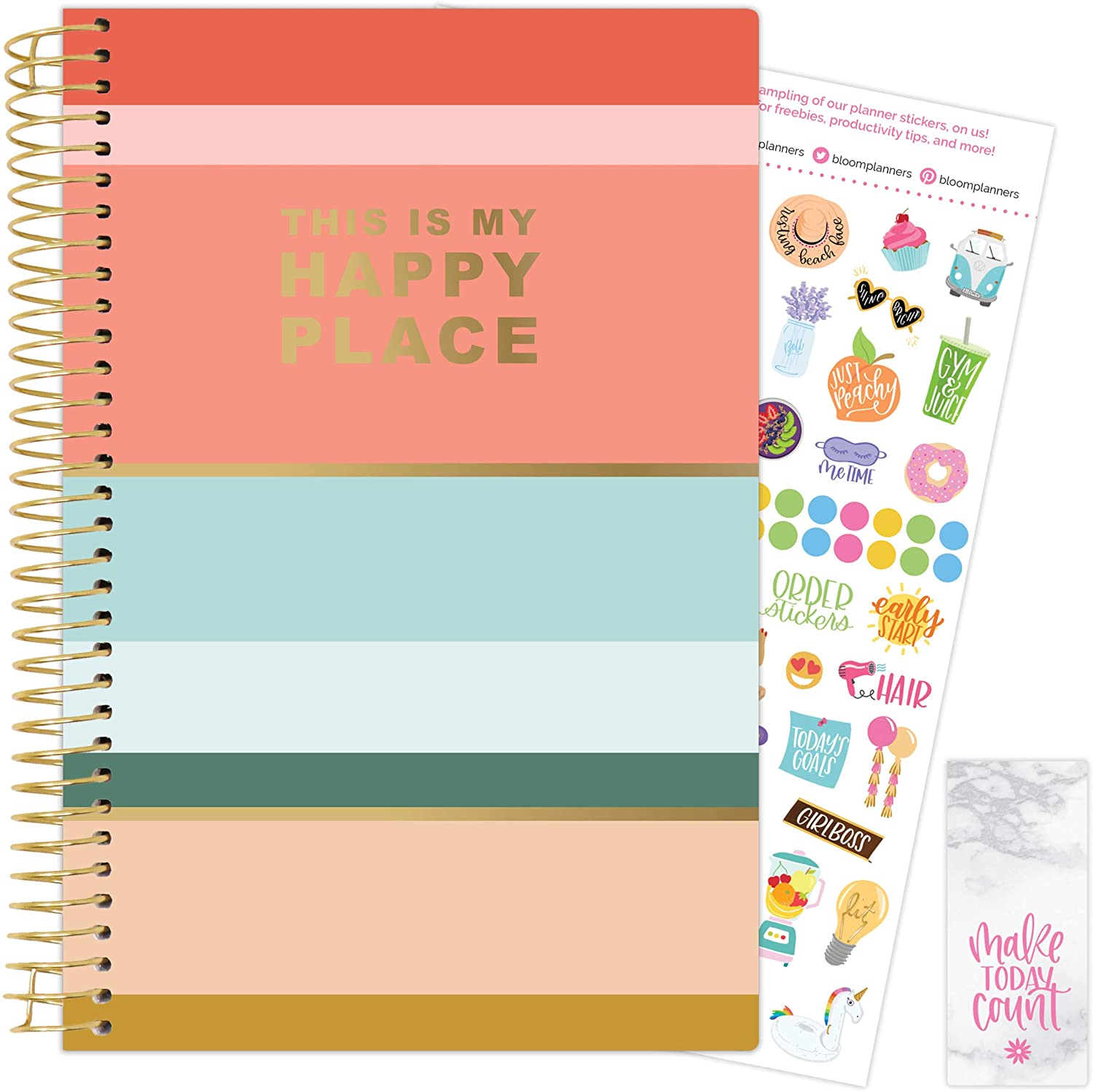 Cleerely Stated 2021-22 Soft Cover Planner