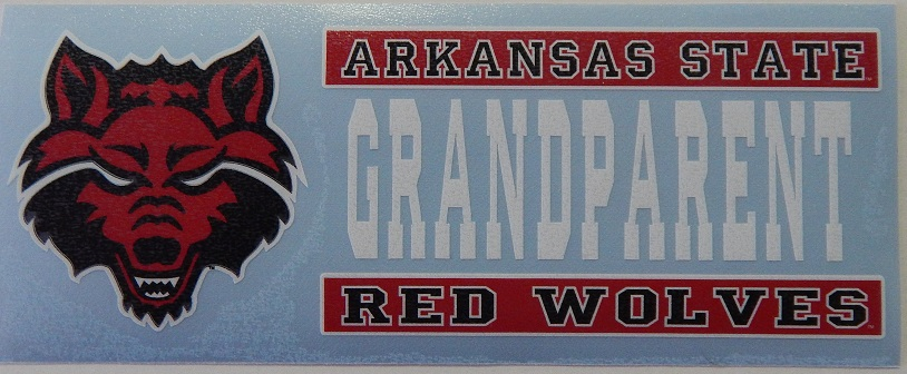 Red Wolves Grandparent Decal