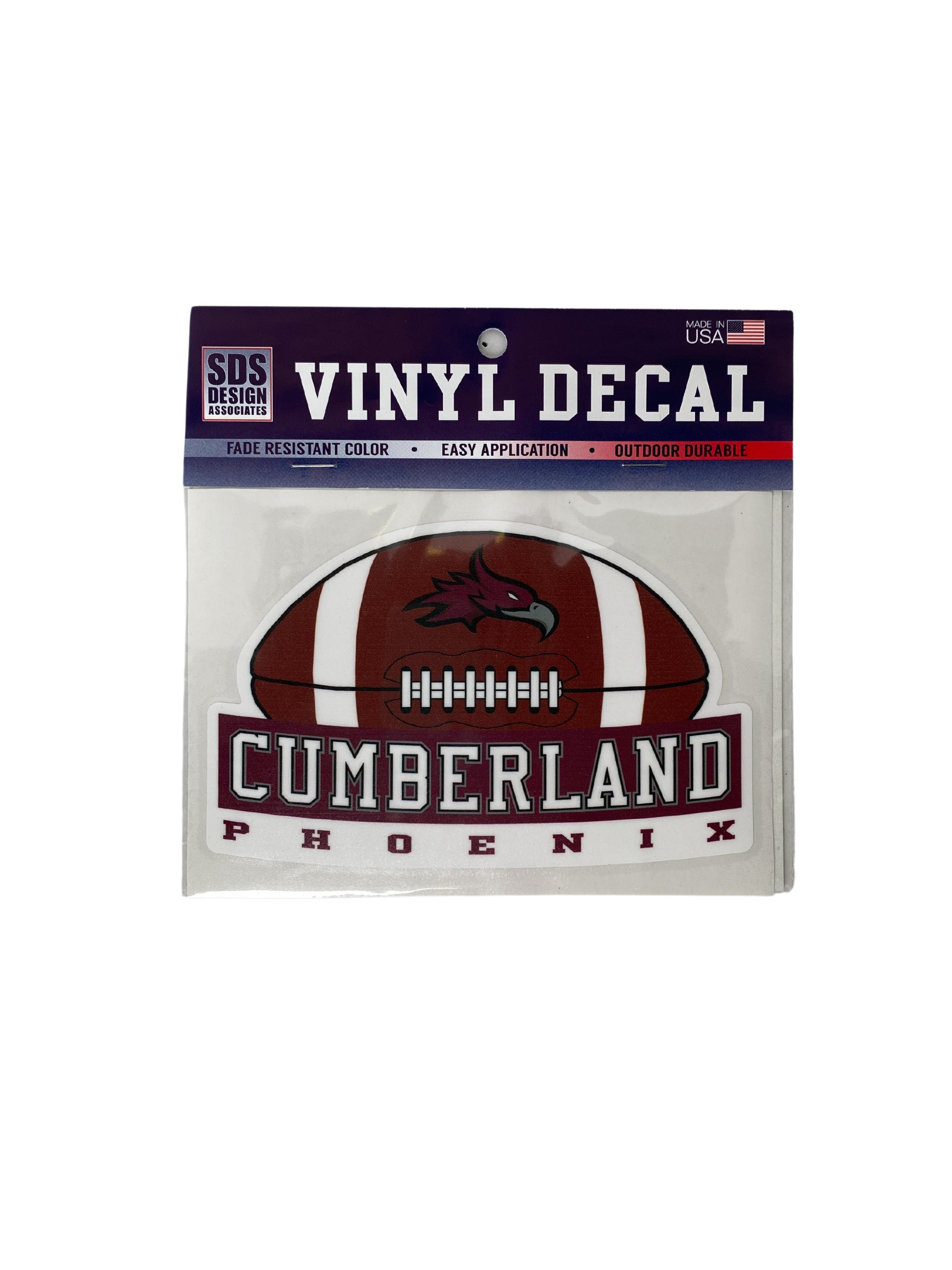 Cumberland Phoenix Football Decal