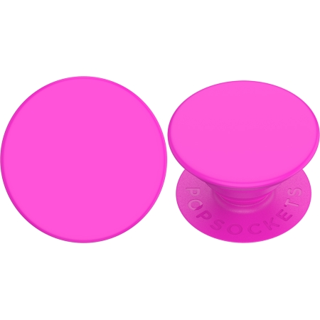 Neon Day Glo Pink Swappable PopSocket