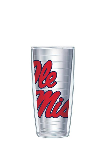 Large Logo on Clear Tumbler - 16 oz.