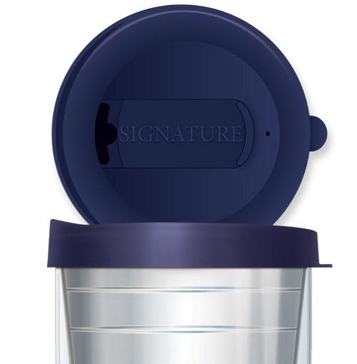 Large Navy Tumbler Lid - 22 oz.