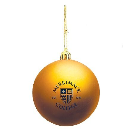 Gold Shield Ornament