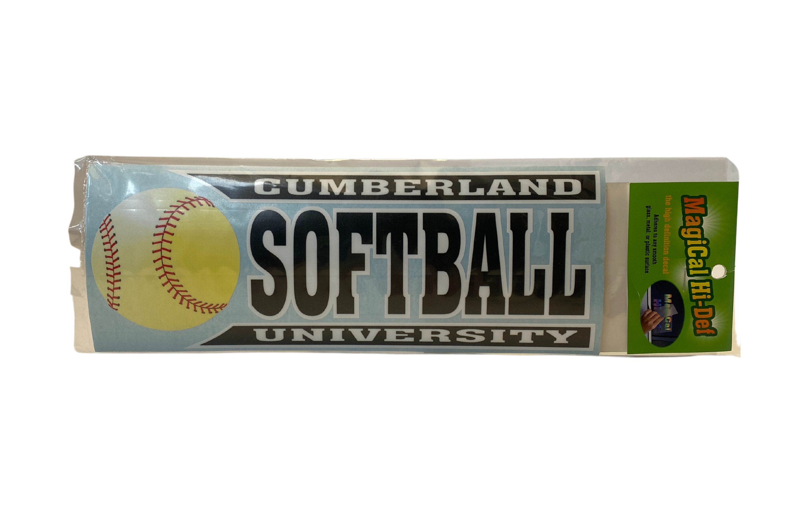 Cumberland Softball Line Design Decal