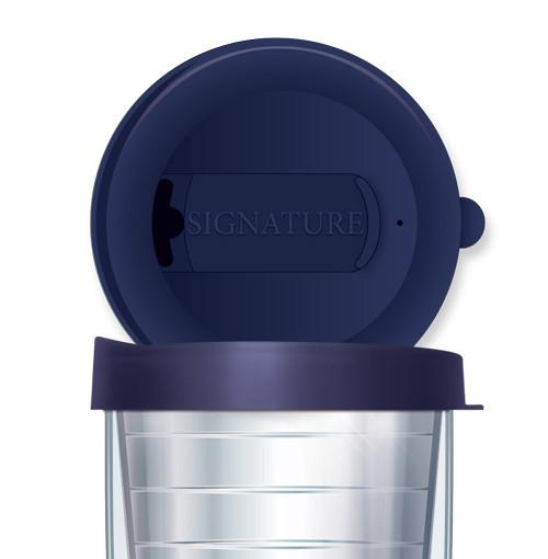 Small Navy Tumbler Lid - 16 oz.