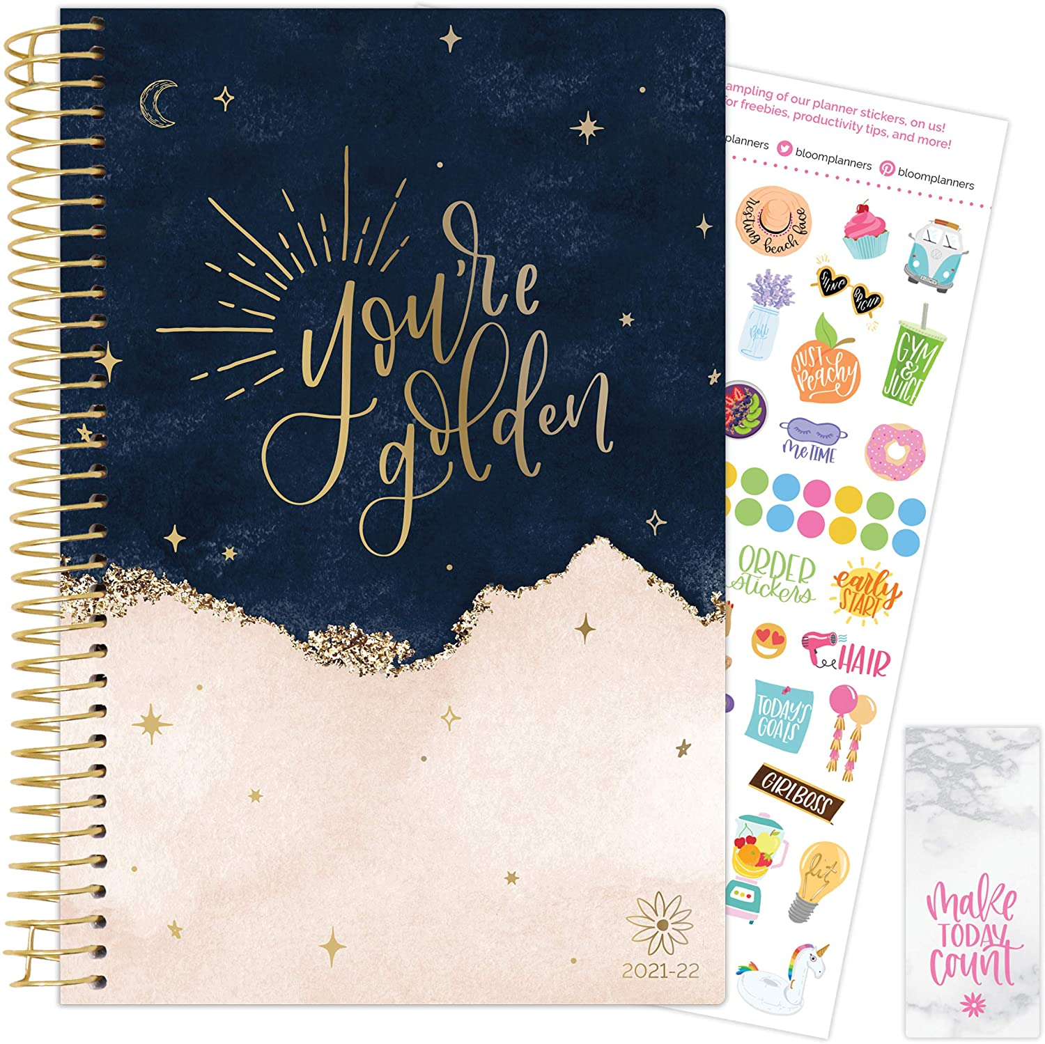 You're Golden 2021-22 Soft Cover Planner