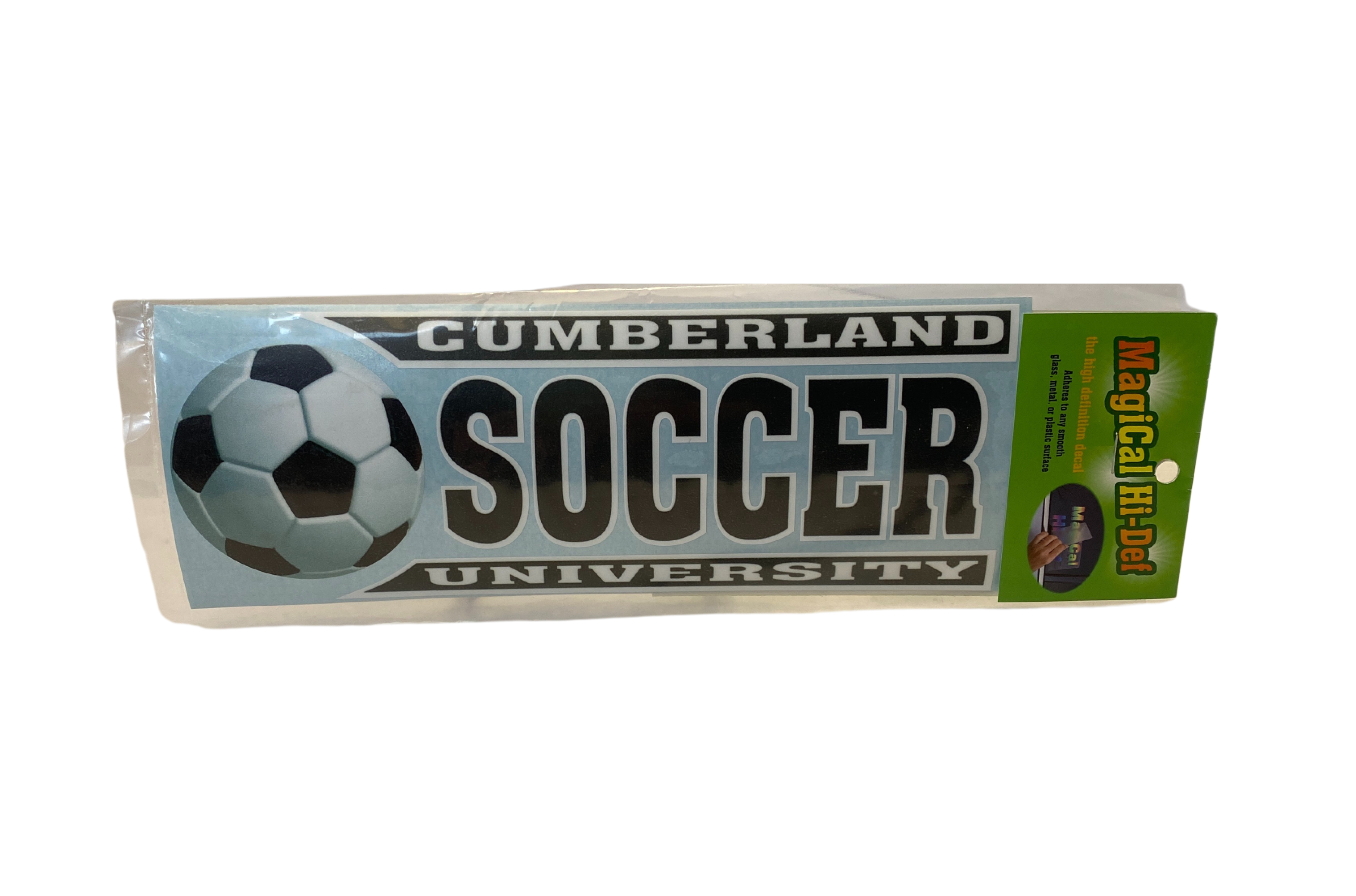 Cumberland Soccer Line Design Decal