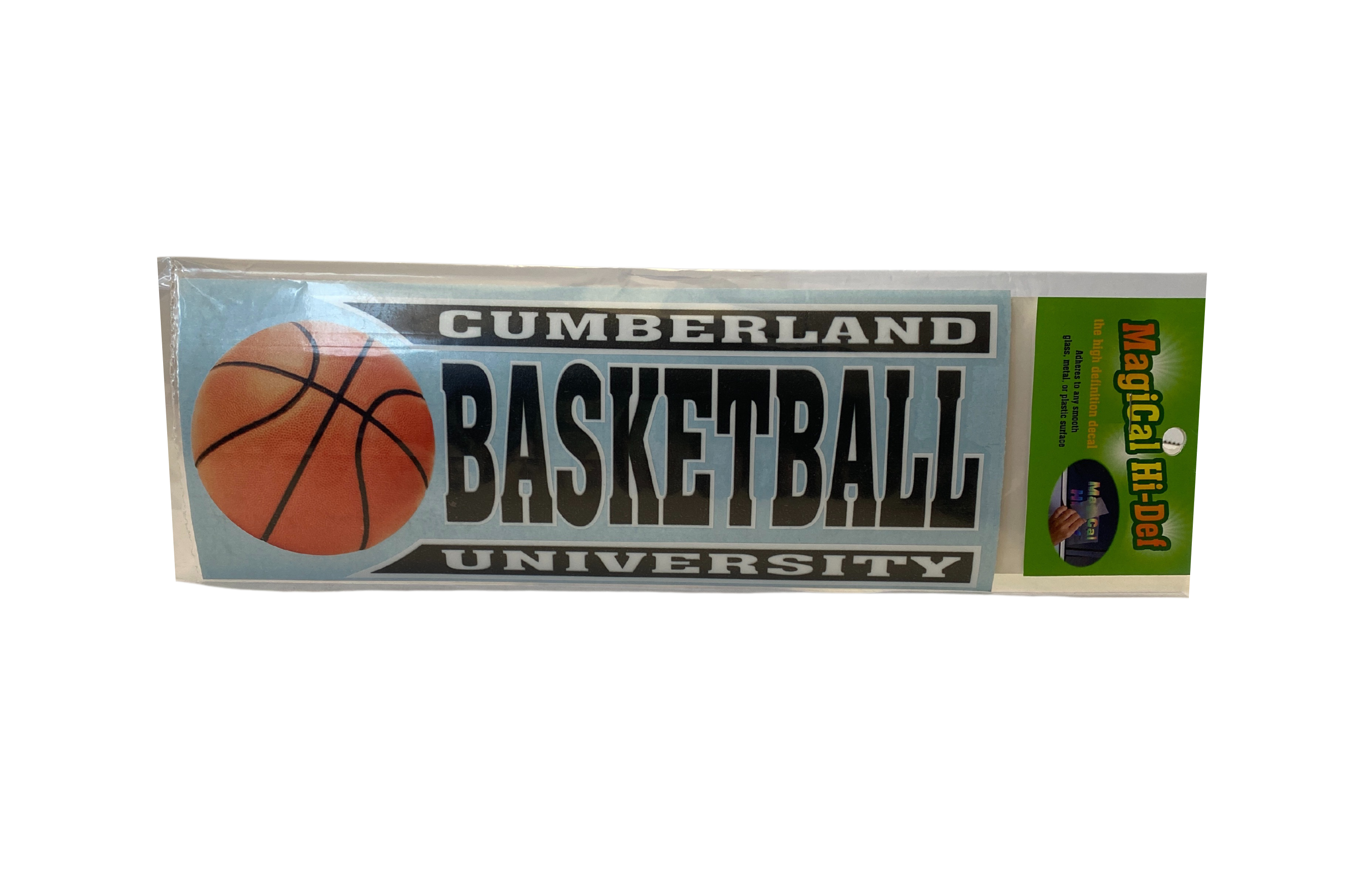 Cumberland Basketball Line Design Decal