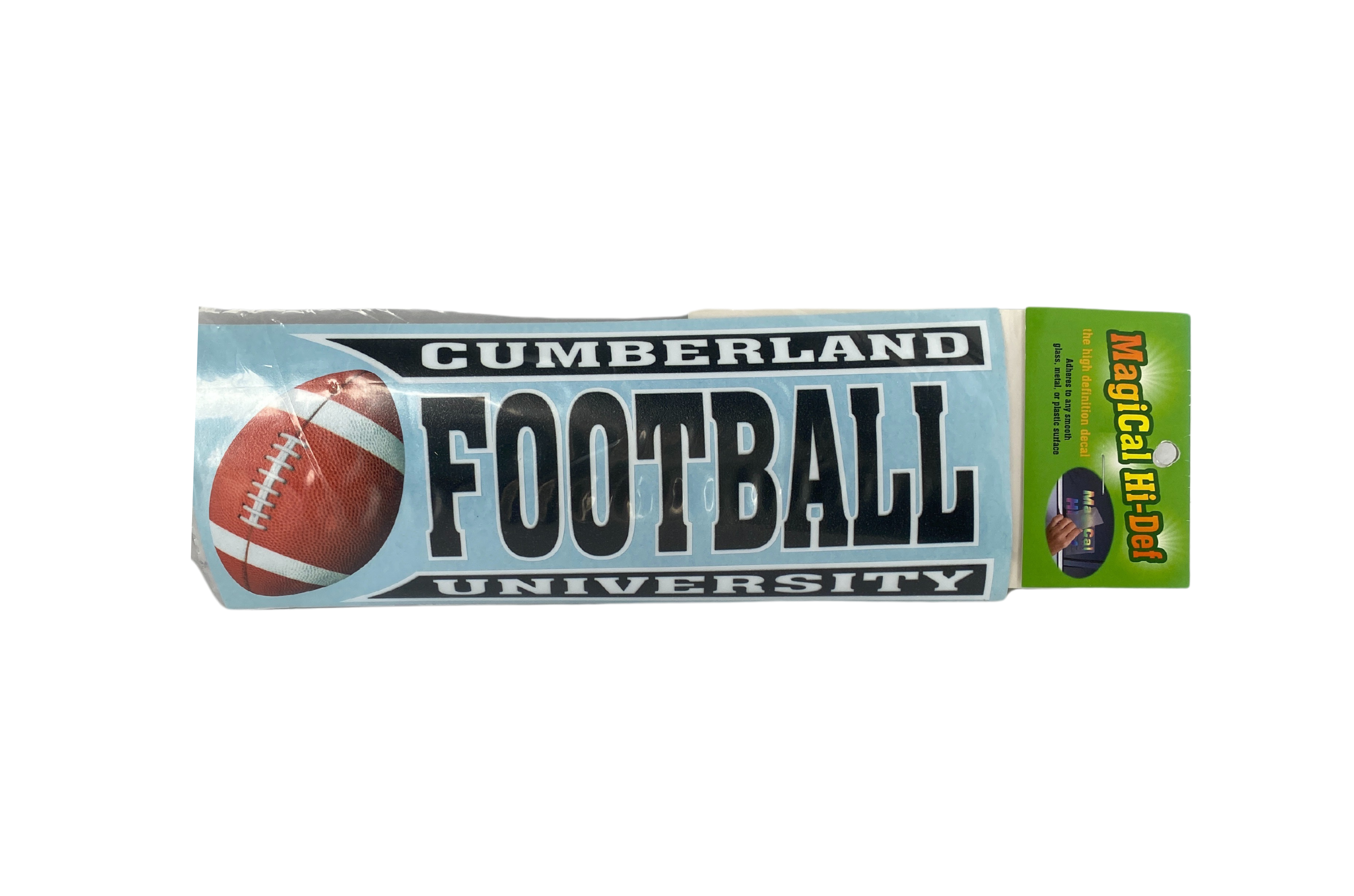 Cumberland Football Line Design Decal