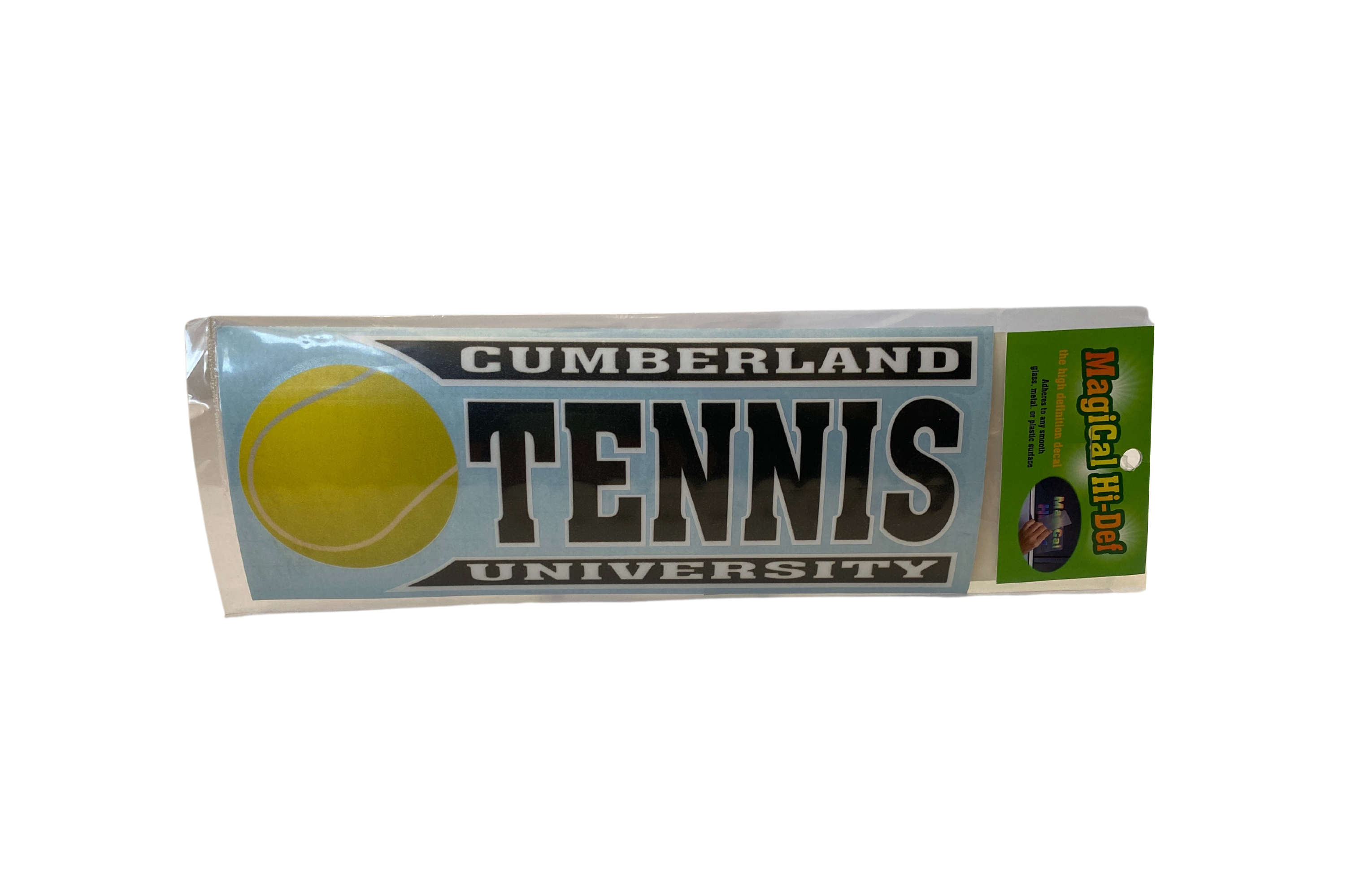 Cumberland University Line Design Tennis Decal