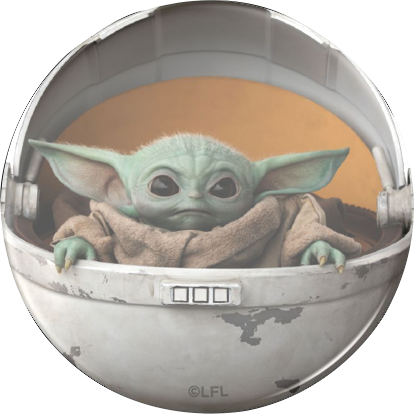 PopSockets The Child Pod Baby Yoda Swappable PopGrip