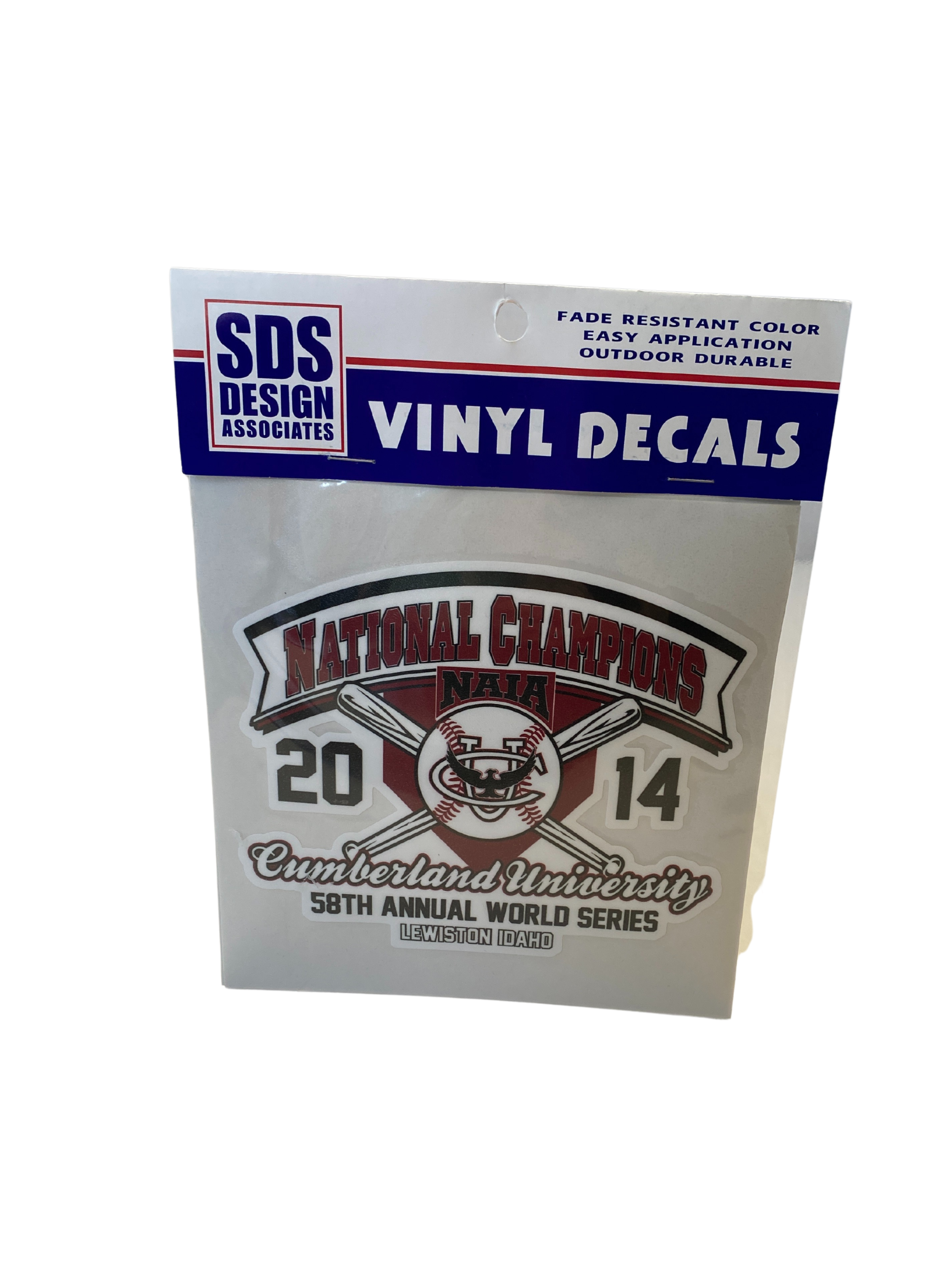 2014 NAIA Baseball National Champions Decal