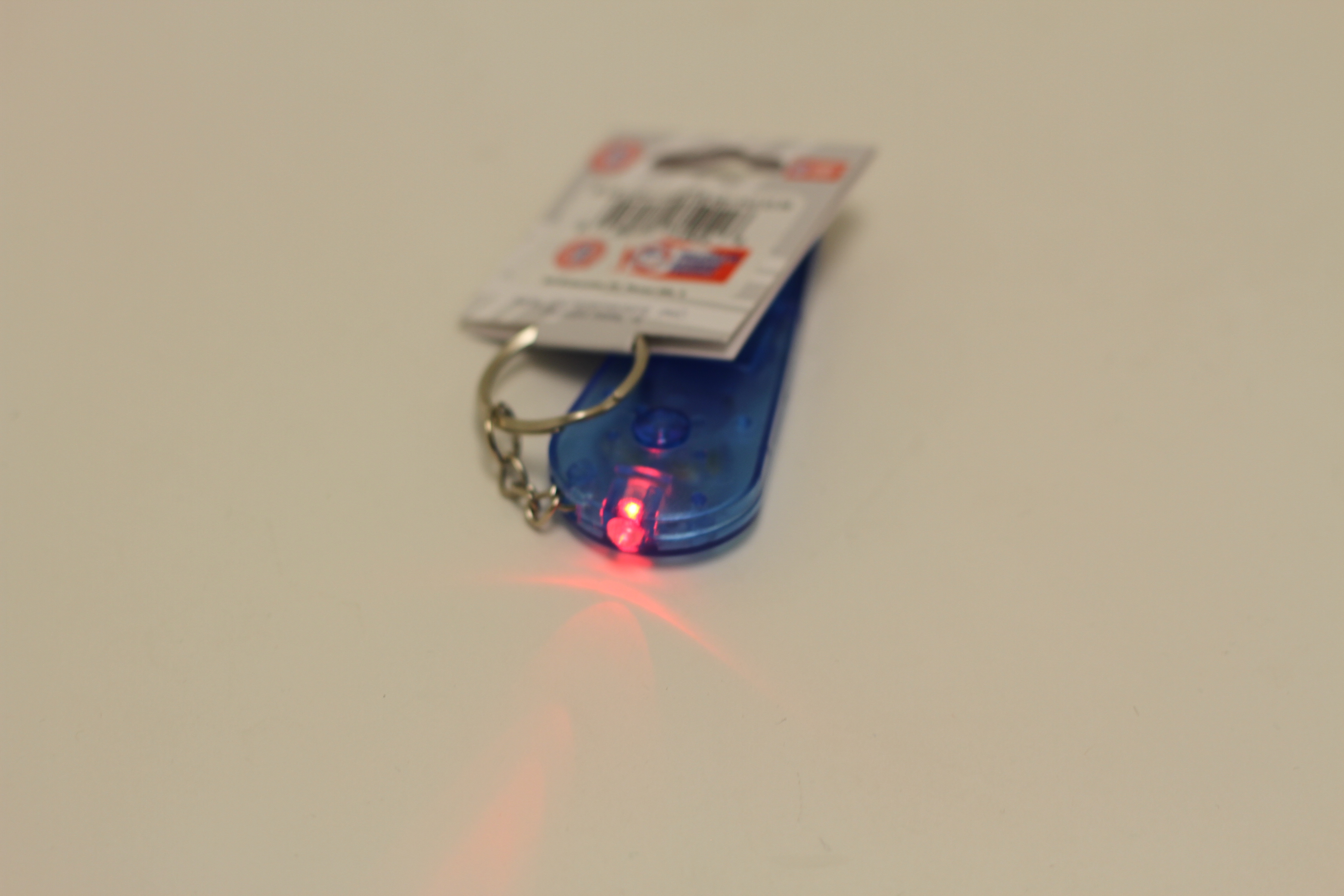 WHISTLE KEYCHAIN WITH LIGHT