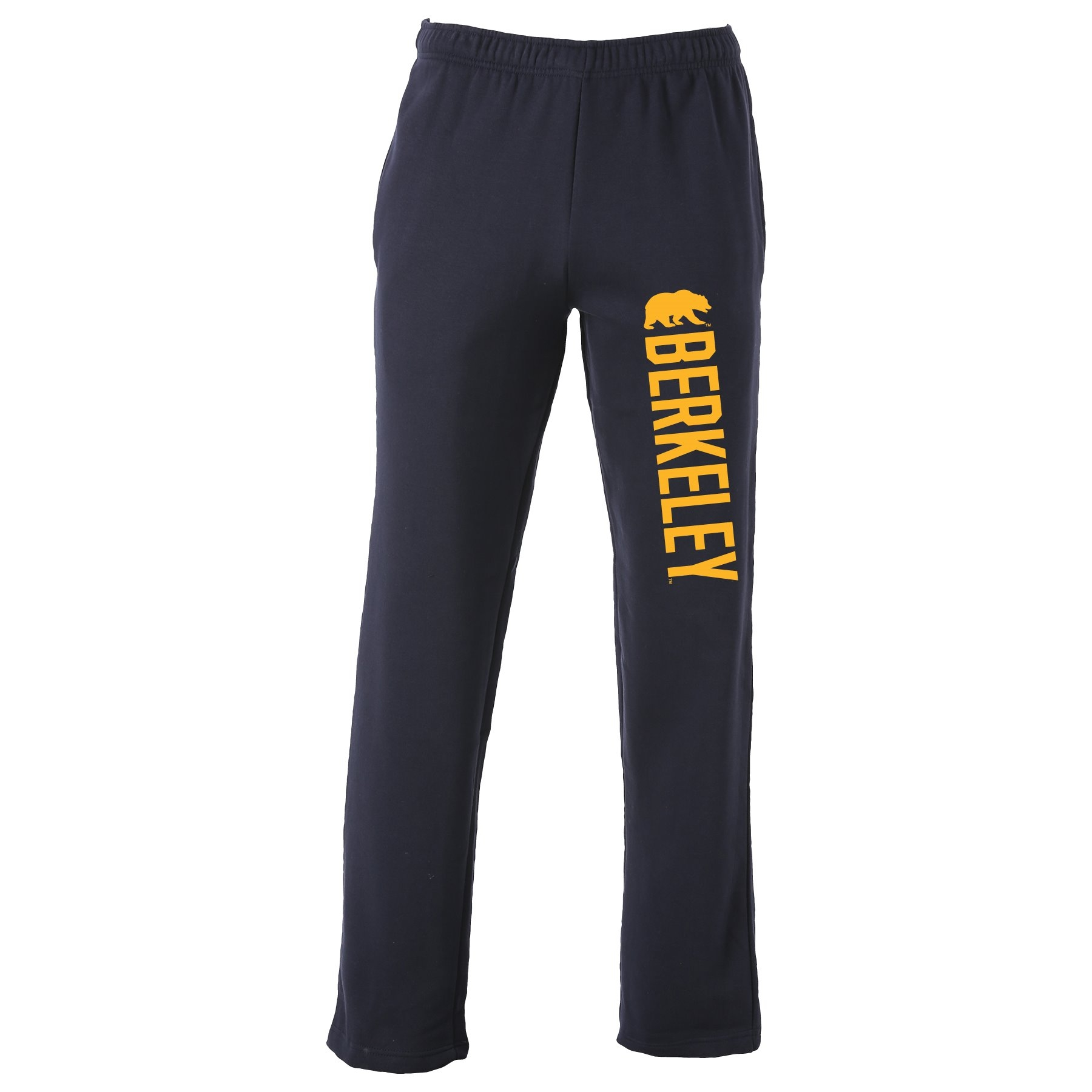 Cal Bears Benchmark Open Bottom Pant Berkeley Bear Logo