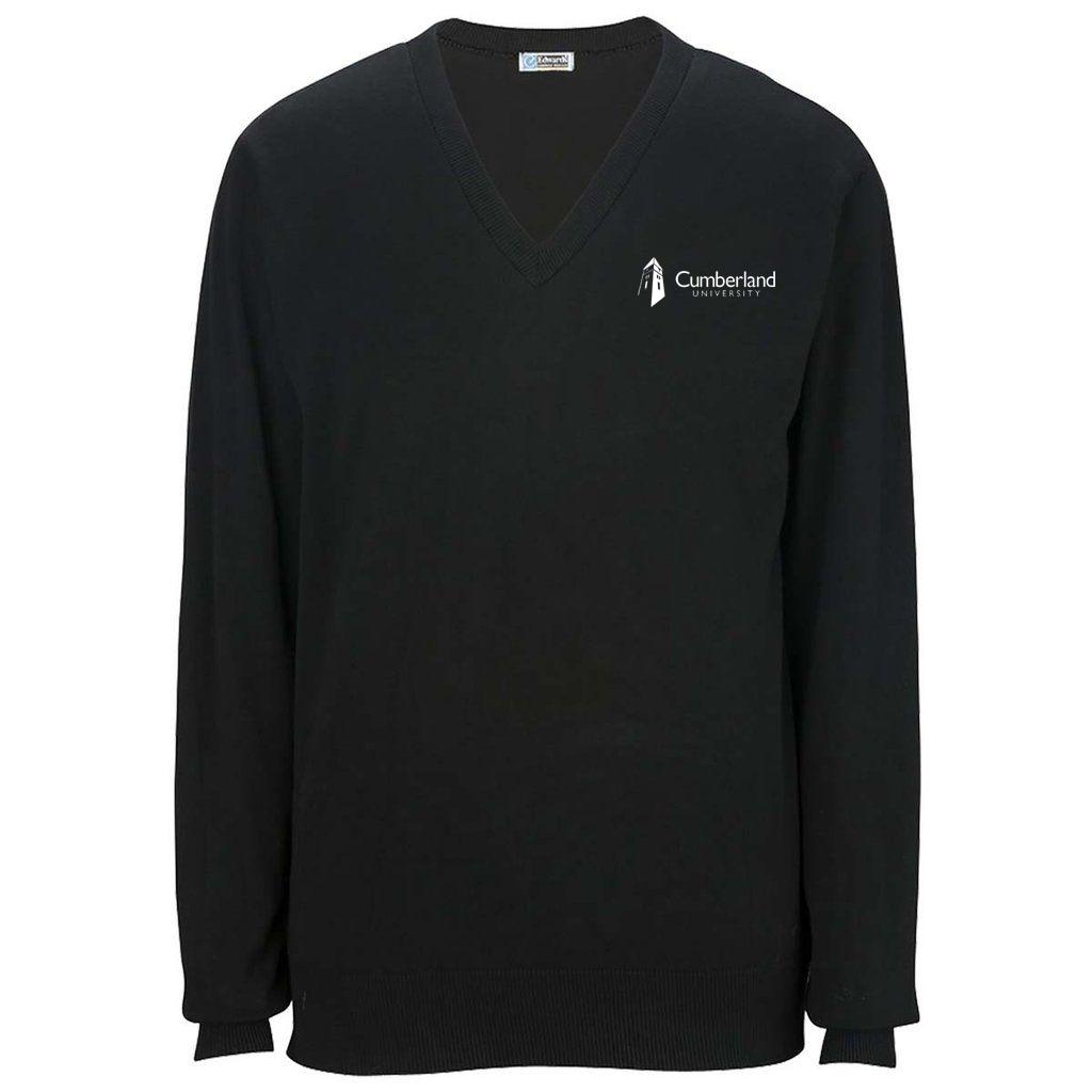 Cumberland University Cashmere Vneck Sweater