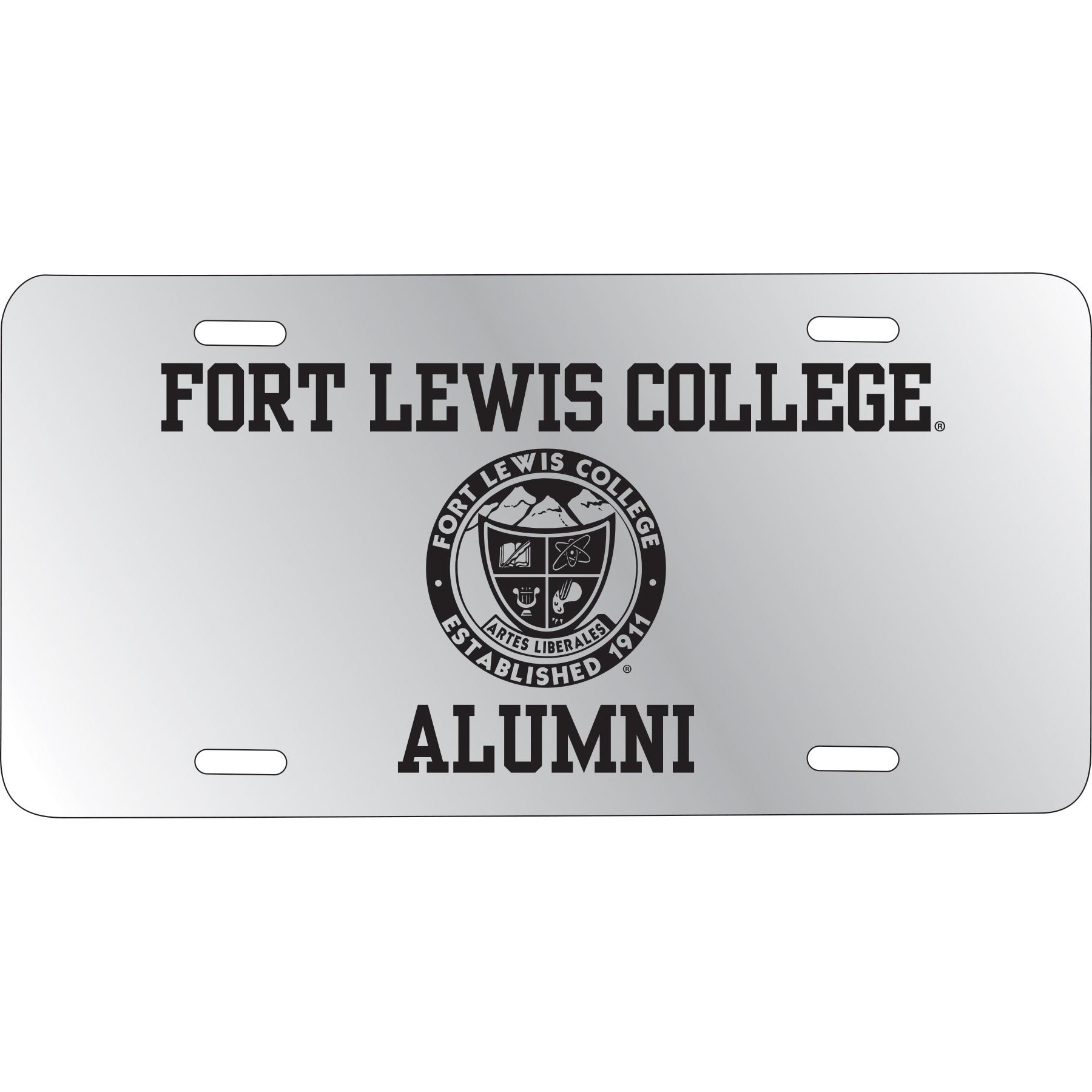 FLC Alumni License Plate