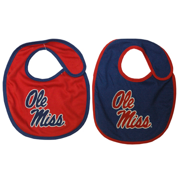 Ole Miss Infant Bib - 2 Pack