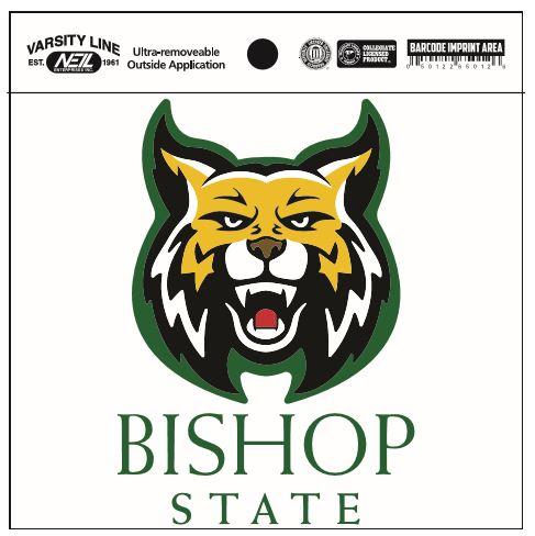 Bishop State Decal