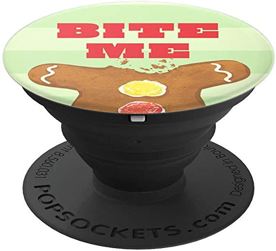 Bite Me Holiday PopSocket