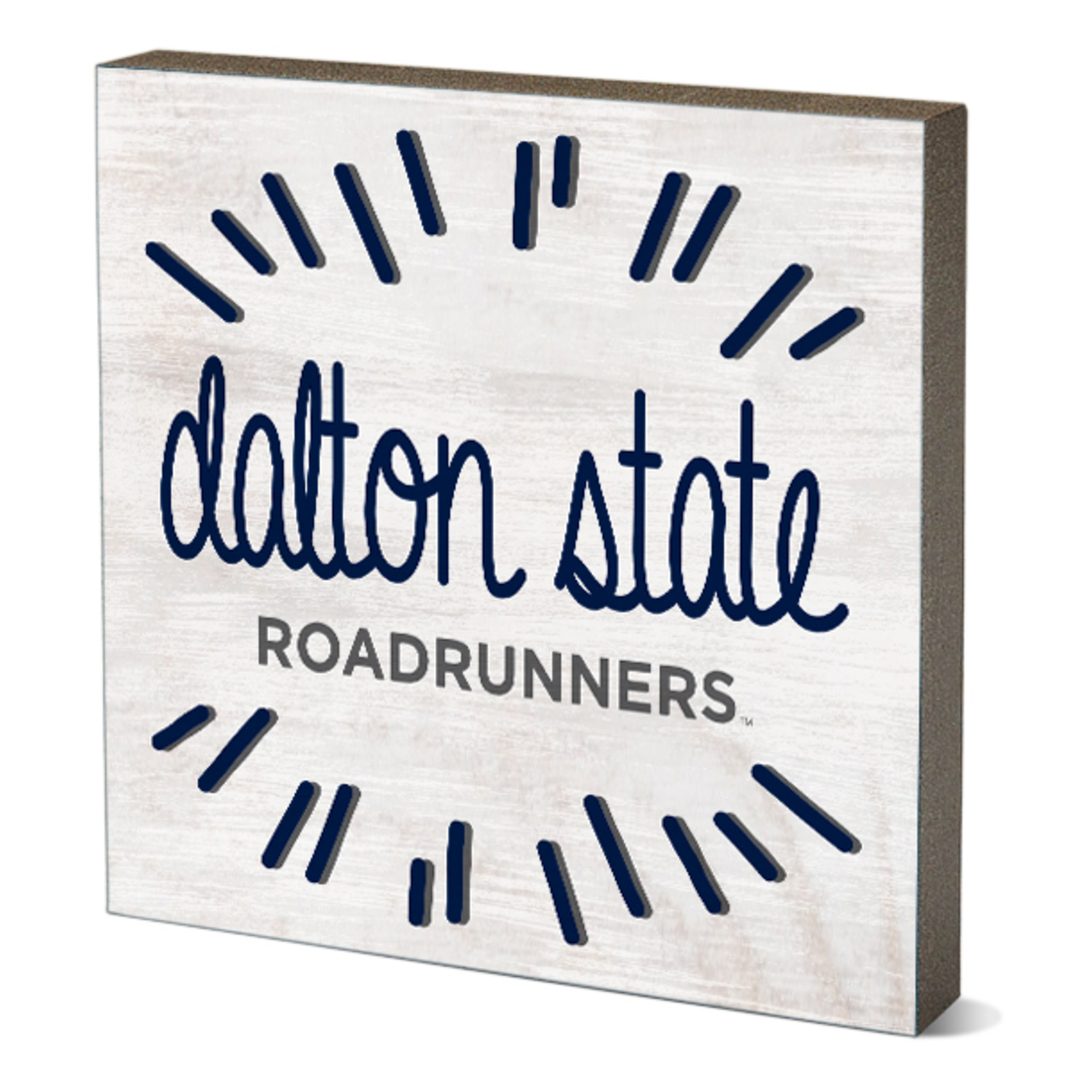 Dalton State Roadrunners Firework Table Top Square